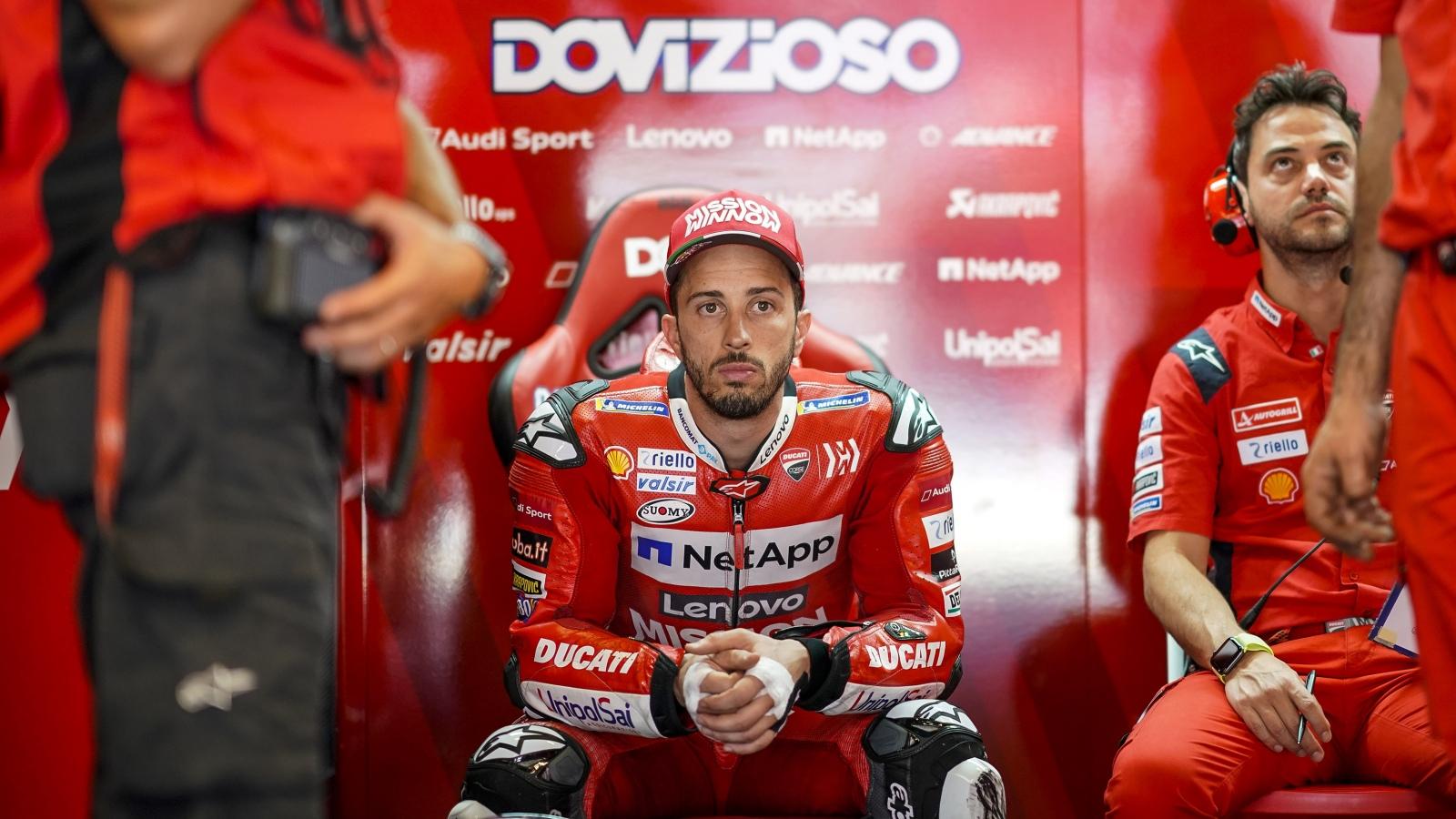 """Andrea Dovizioso: """"El error de Jorge no es una locura, pero creo que debería ser penalizado"""""""