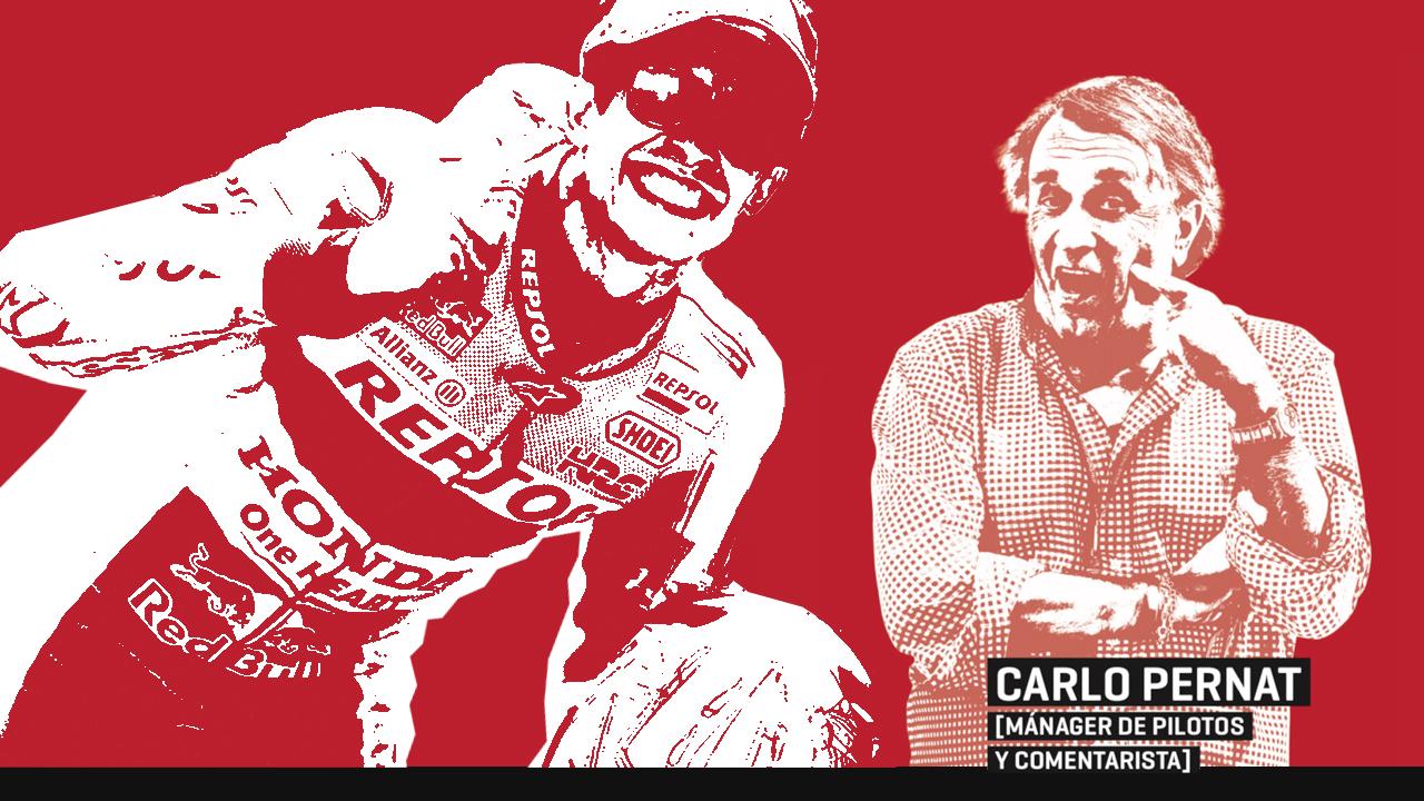 """""""Marc Márquez es más astuto que Valentino Rossi"""", la columna de Carlo Pernat"""