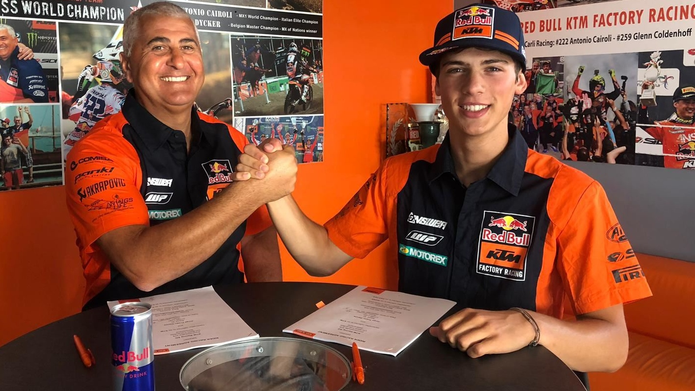 Jorge Prado confirma su salto a MXGP tras renovar con KTM