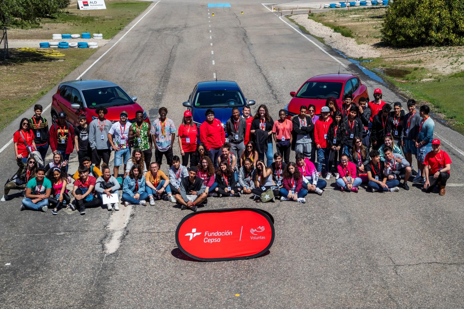 La Fundación Cepsa implicada con la formación en seguridad vial de los jóvenes