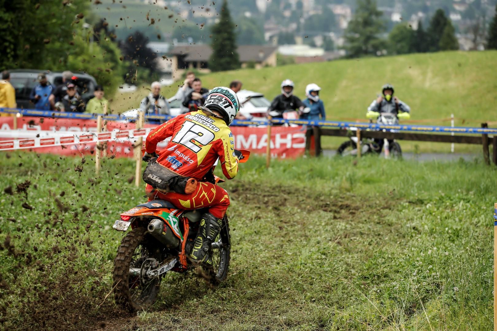 Nuevo triunfo de Enric Francisco en el EnduroGP de Italia