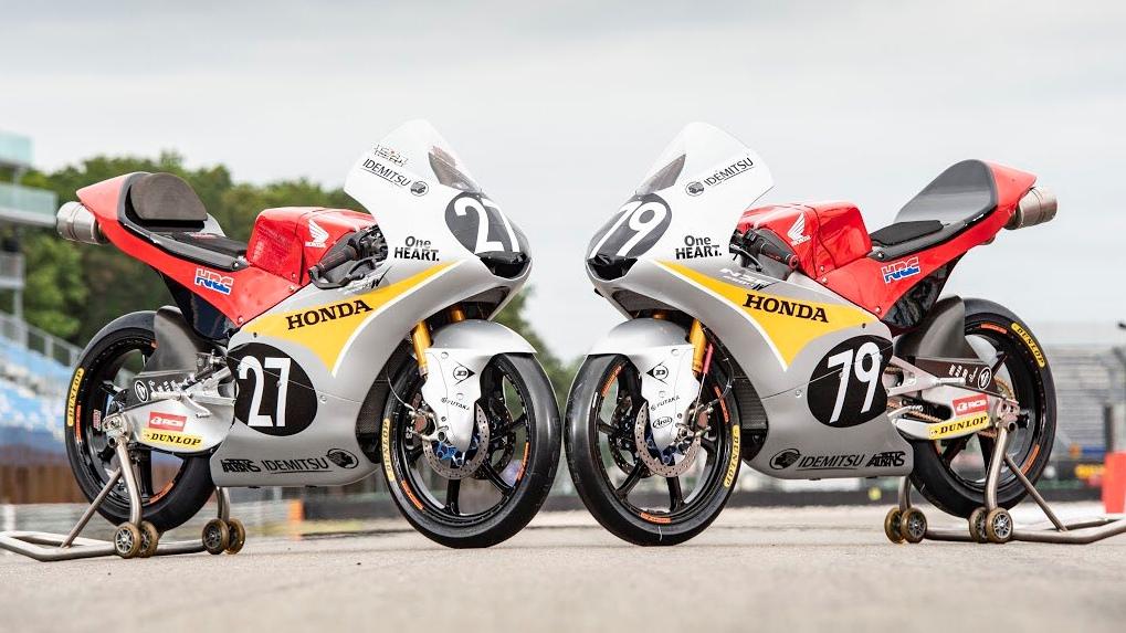 El Honda Team Asia correrá en Assen con el diseño de la mítica Honda RC143 de 1961
