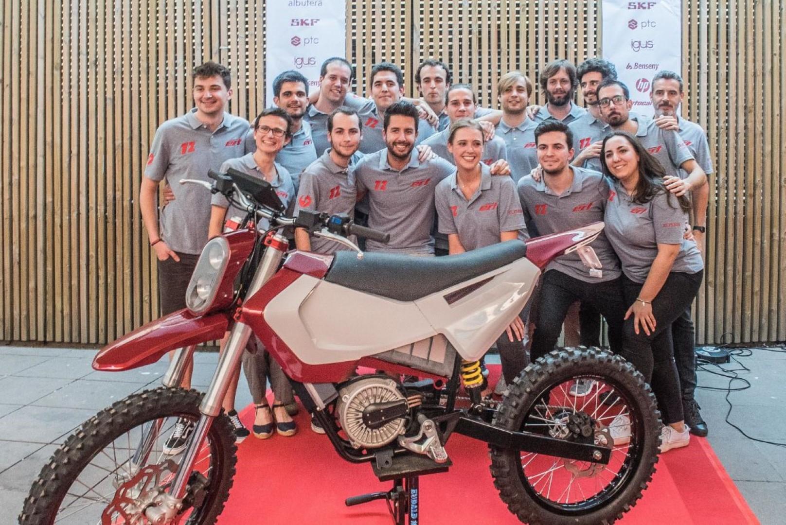 Proyecto Moto eléctrica Elisava