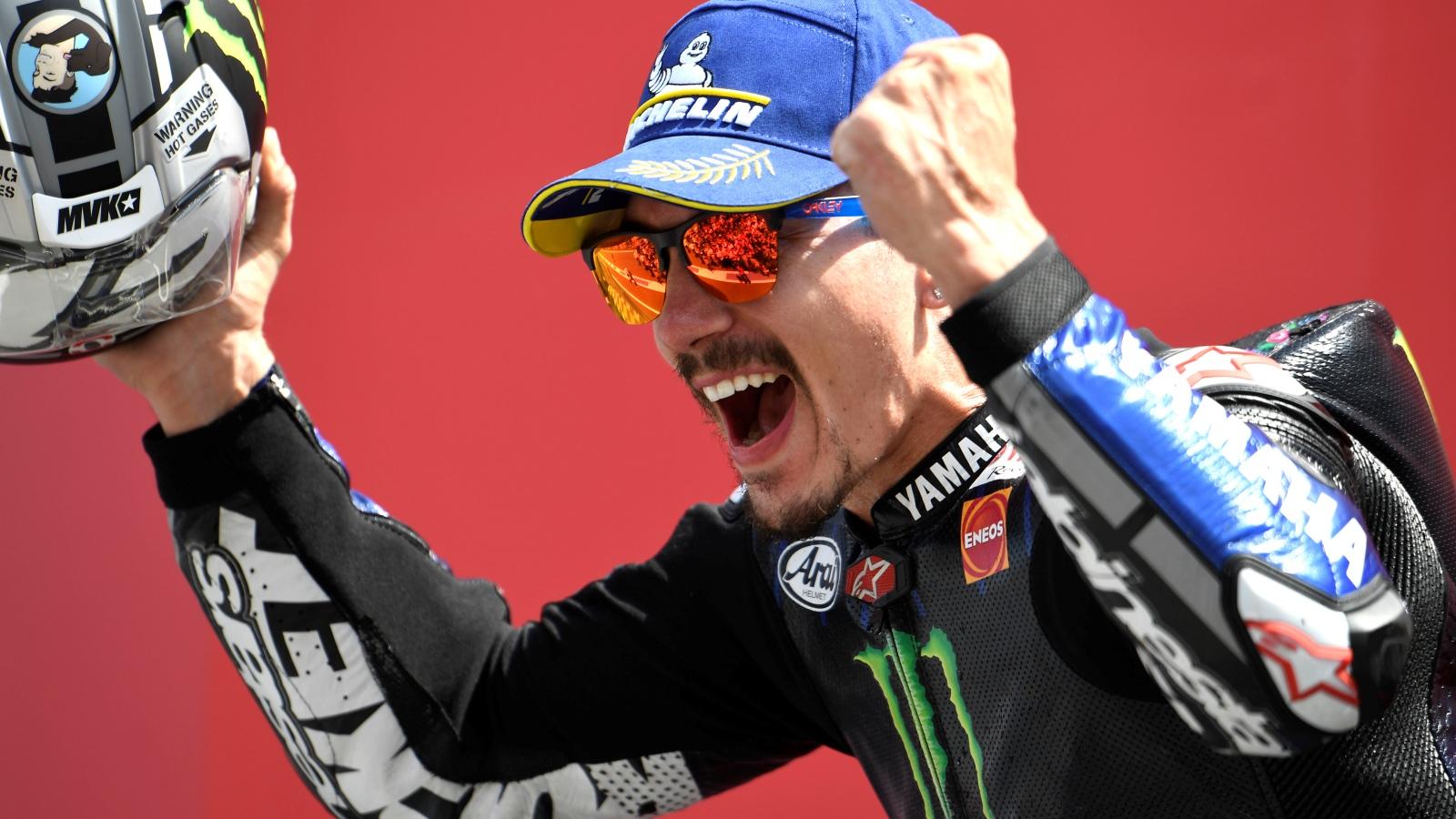 """Maverick Viñales: """"La mejora está en la manera de pilotar y de intentar entender la moto"""""""