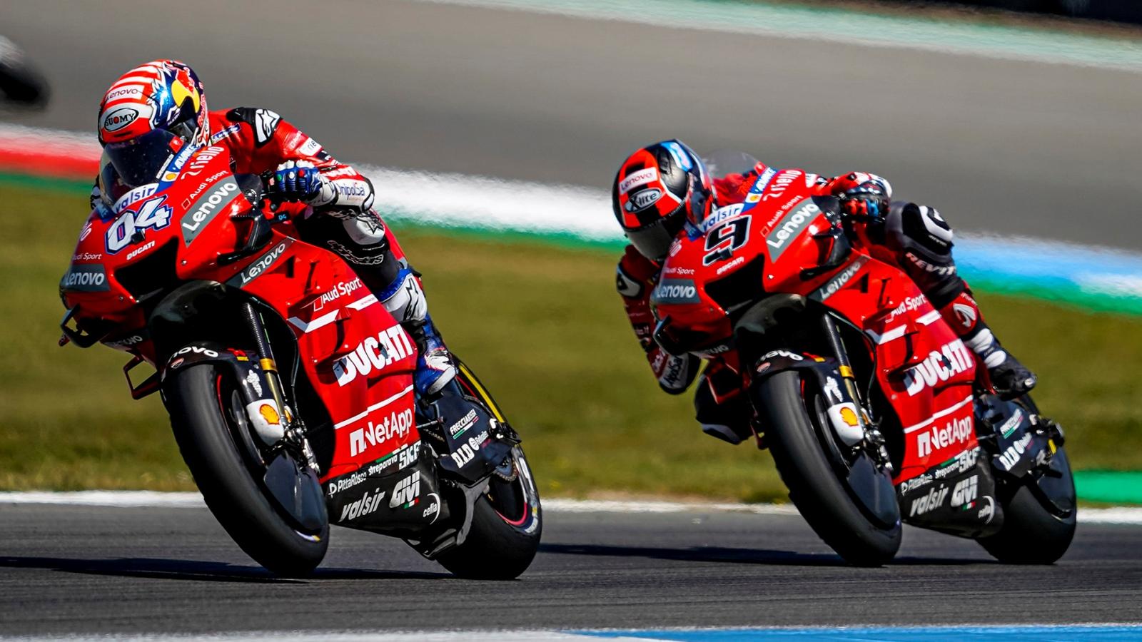 Ducati y los desórdenes de equipo