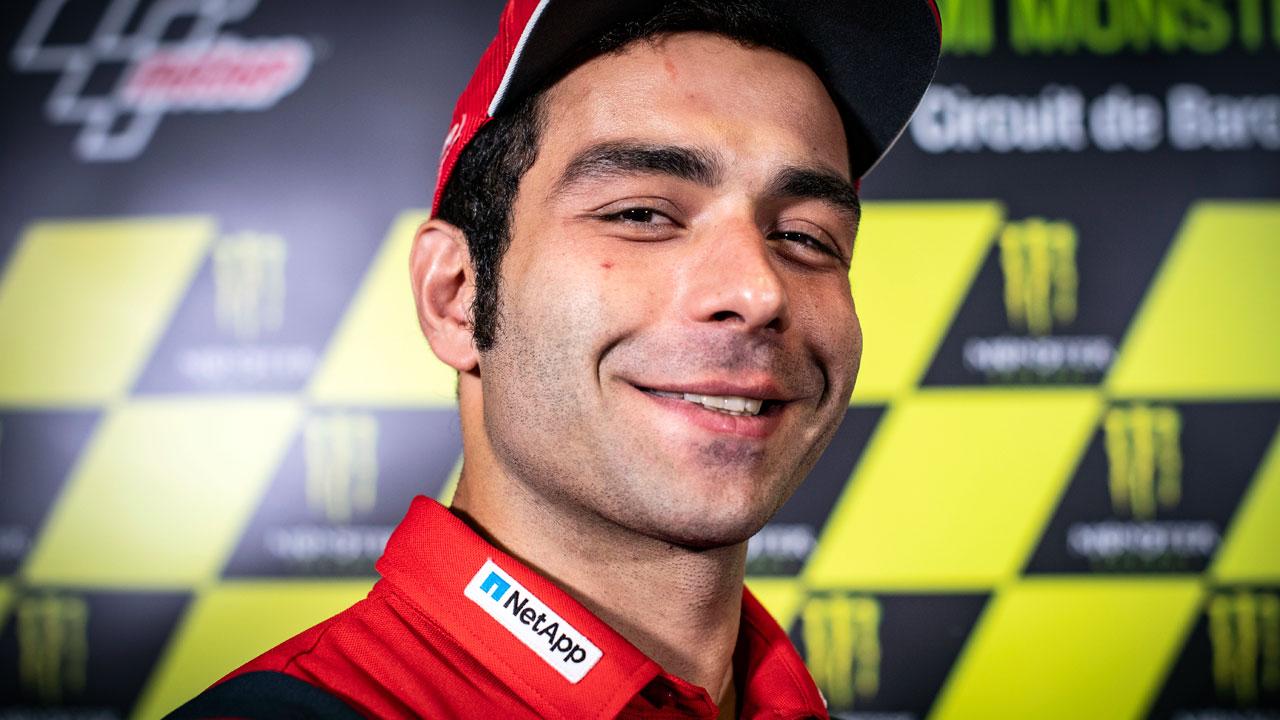 Danilo Petrucci renueva con Ducati hasta 2020