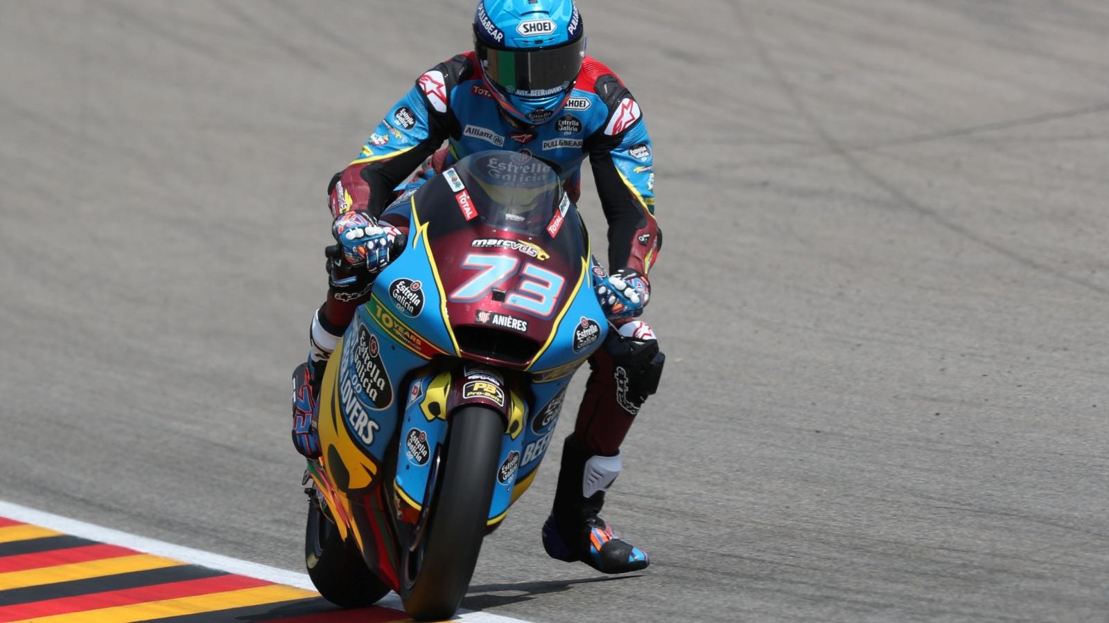 Álex Márquez se impone con contundencia en Sachsenring y recupera el liderato de Moto2