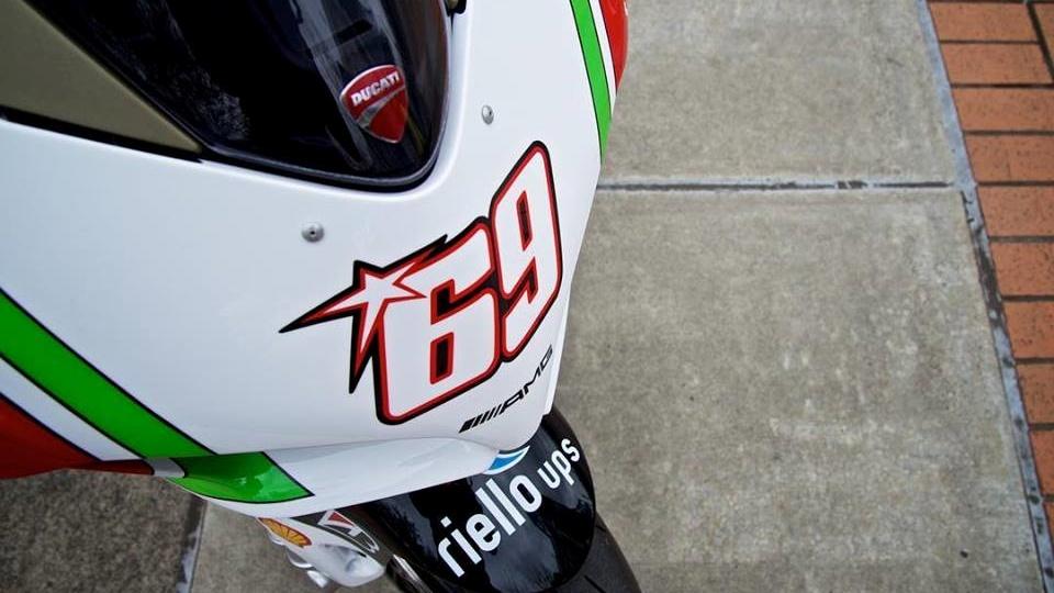 Ducati Panigale V4 S Nicky Hayden Tribute, una edición única a subasta