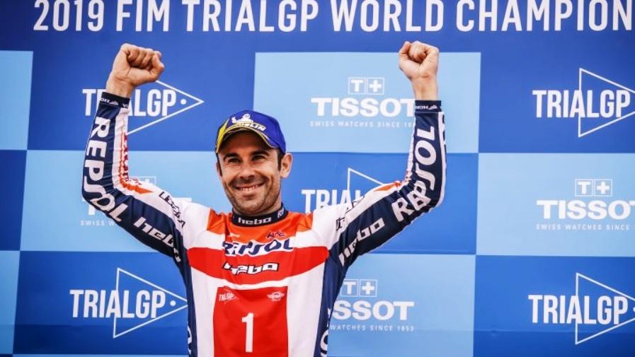 Toni Bou se proclama campeón del mundo de TrialGP 2019 y suma 26 títulos mundiales