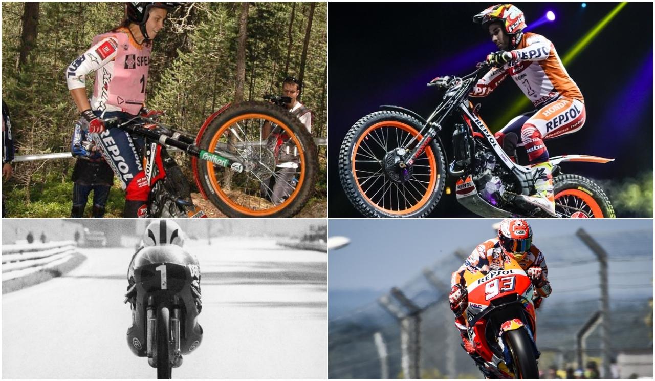 Los 12+1 españoles tetracampeones mundiales de motociclismo