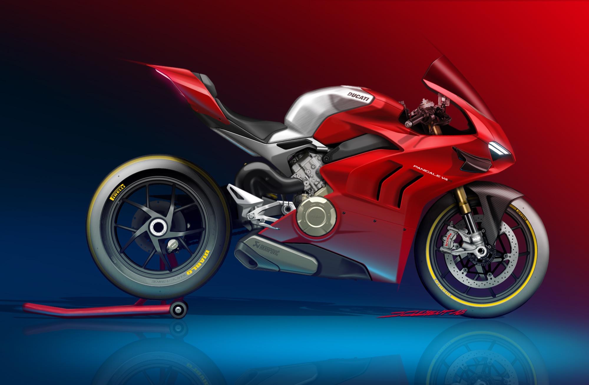 Detrás del proceso de desarrollo de una moto, así nace una Ducati