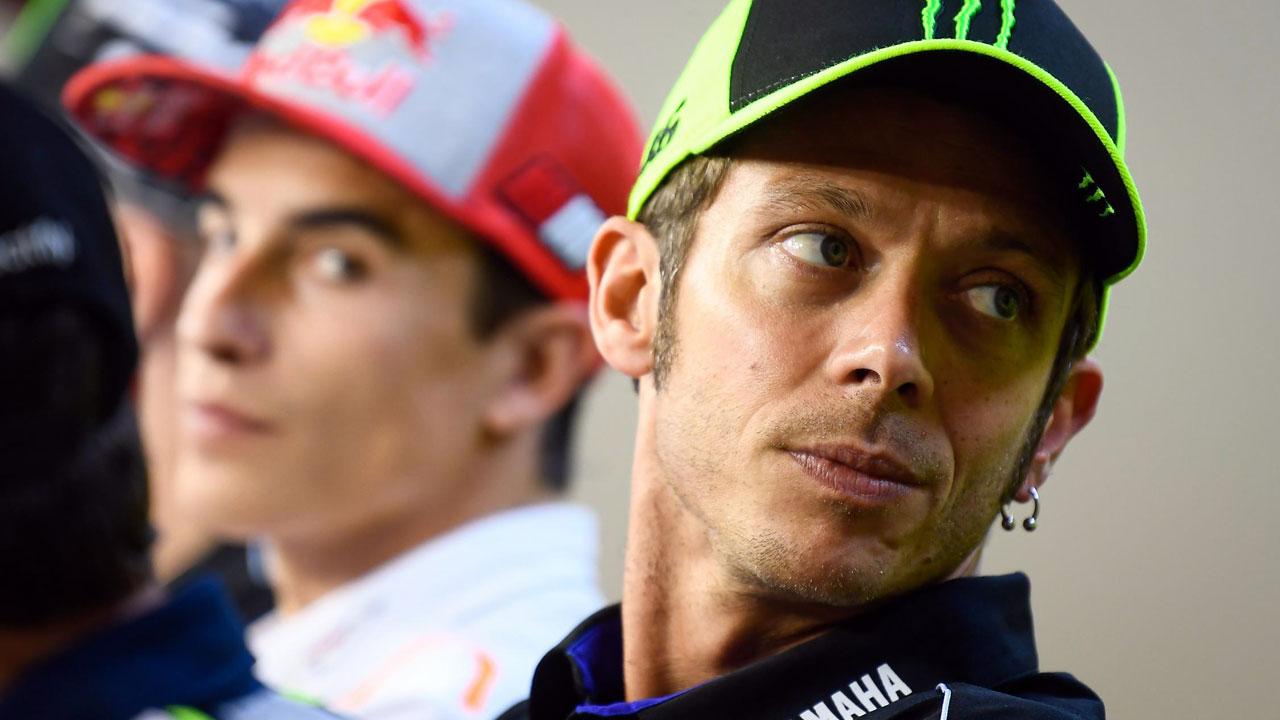 """Valentino Rossi sobre los rumores de retirada: """"Son noticias inventadas"""""""