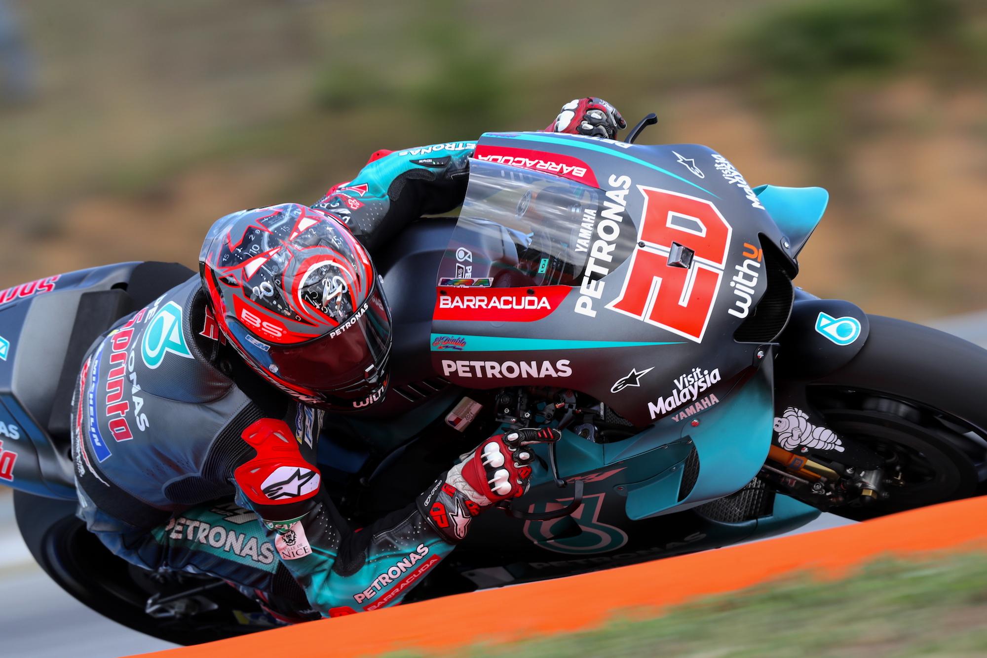 Fabio Quartararo, mejor tiempo en los libres de MotoGP