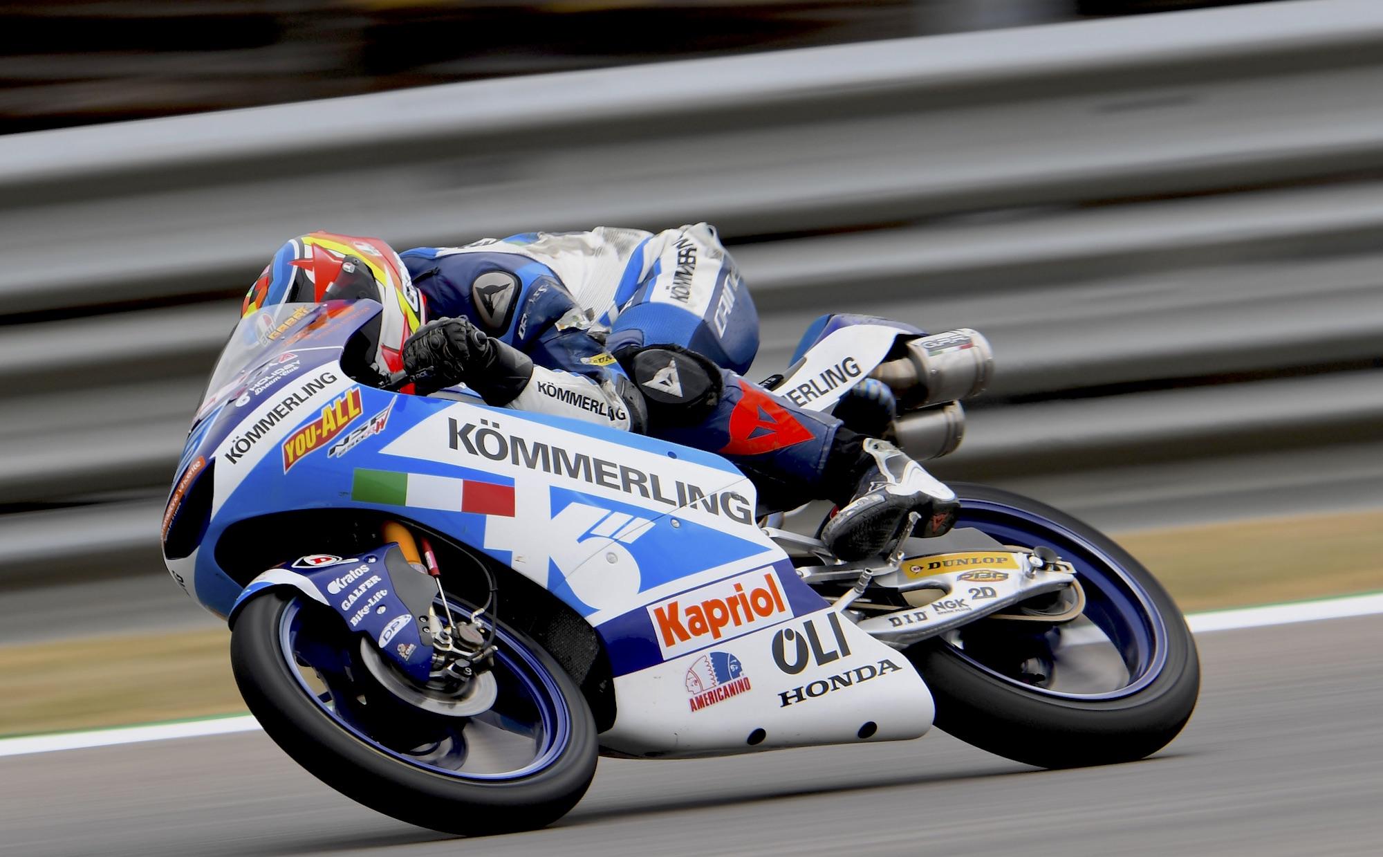 Gabri Rodrigo comanda Moto3 en los libres de Brno