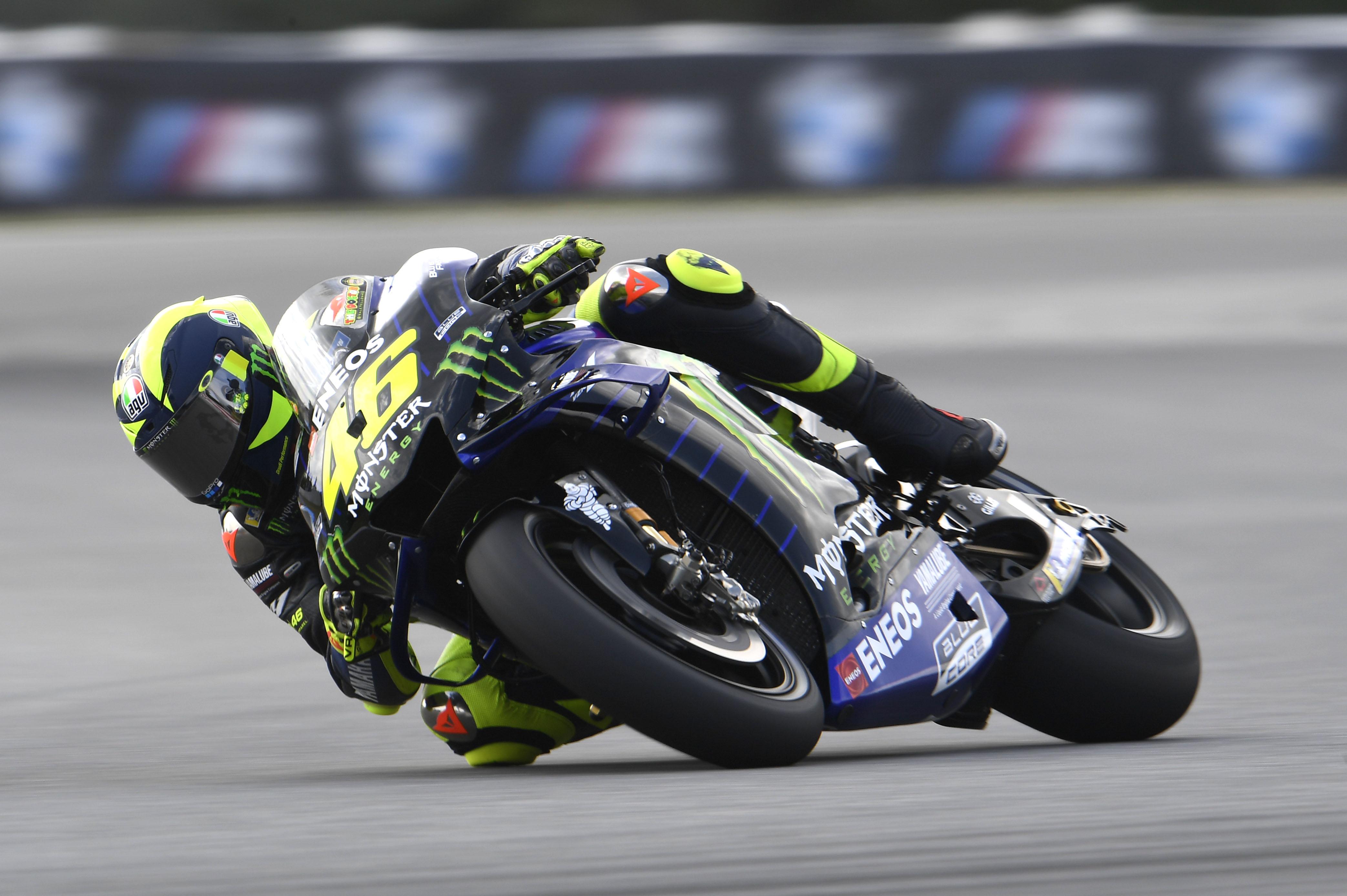 """Rossi le pone nombre a los baches de Brno: """"Están aquí desde 1996"""""""