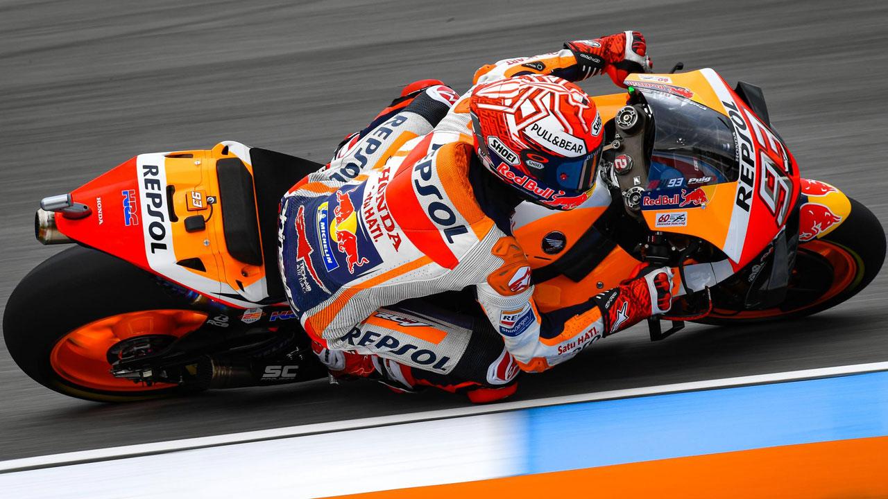 """Márquez no arriesga con el chasis nuevo: """"Hasta que no esté claramente por encima no cambio"""""""