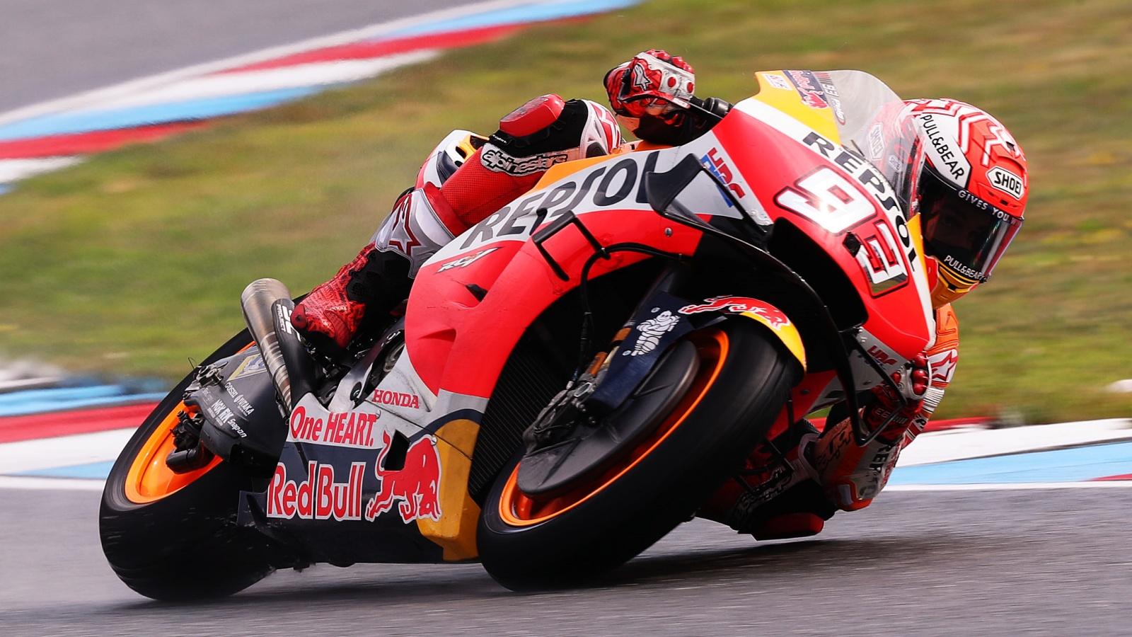 Marc Márquez hace historia en Brno logrando su pole más bestial en MotoGP