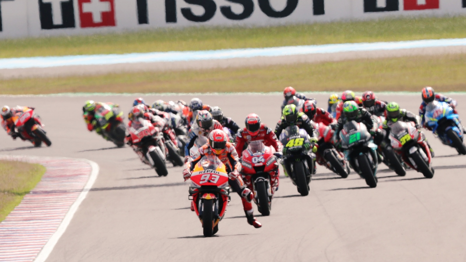 MotoGP cambia la penalización por saltarse la salida a partir de 2020