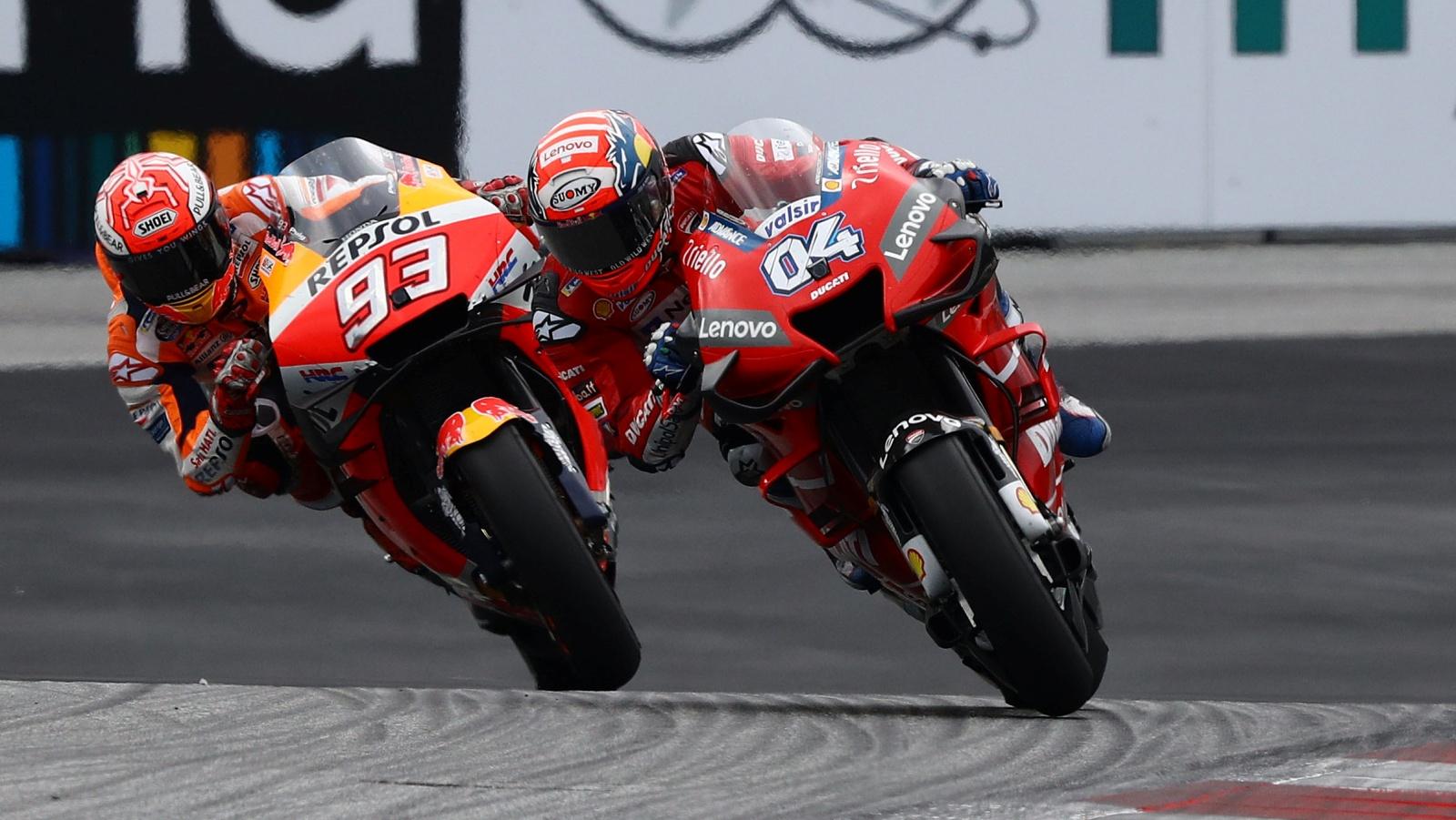 Píldoras MotoGP Austria 2019: Punto de reinicio, otro Márquez, el último block y viejos rockeros