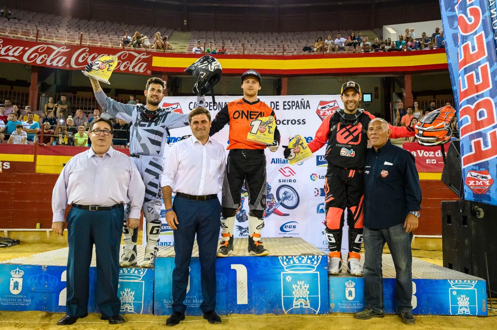 Melero vence el Freestyle MX de Roquetas