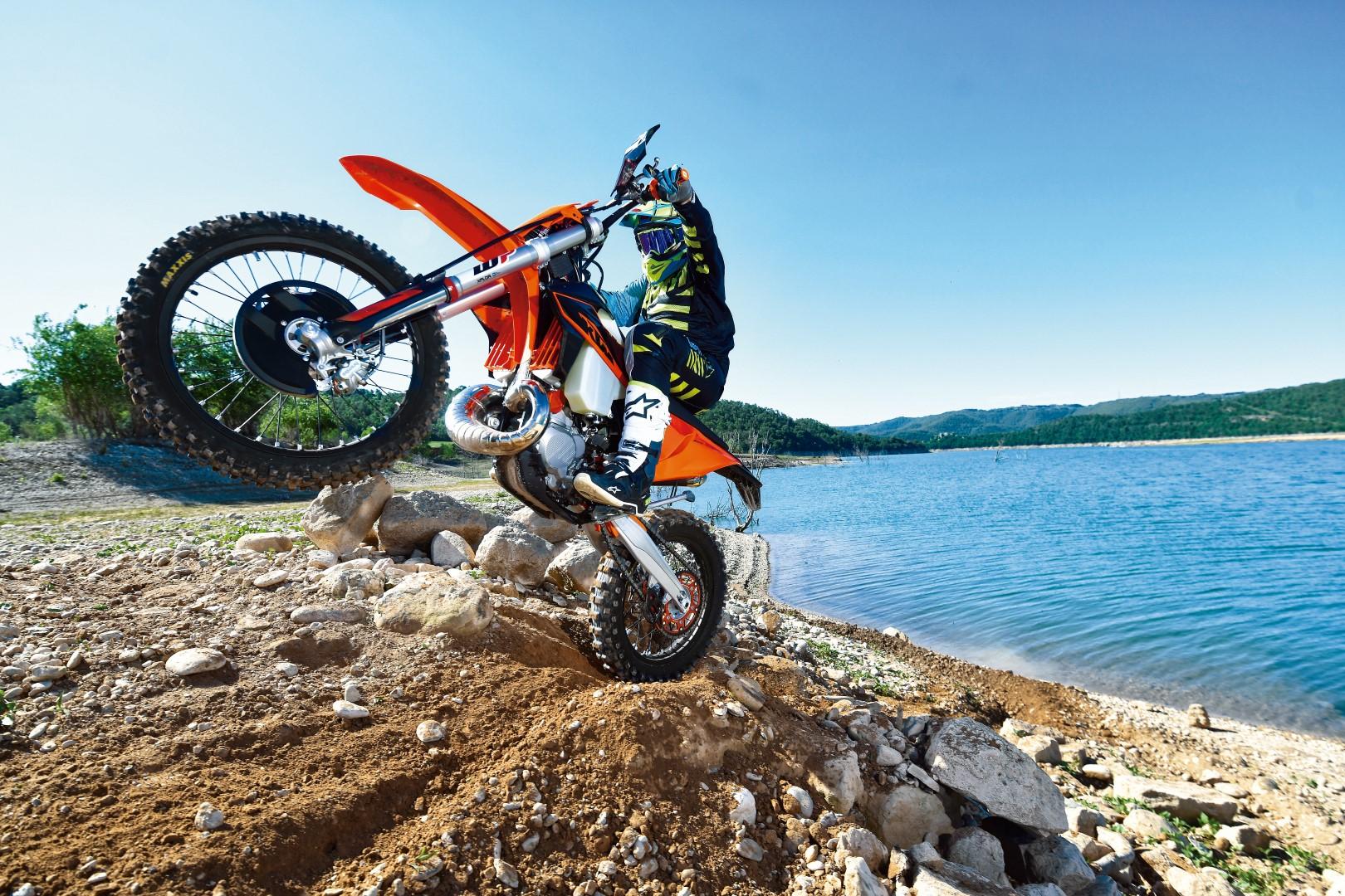 Gama KTM Enduro 2020, prueba, fotos y primeras impresiones