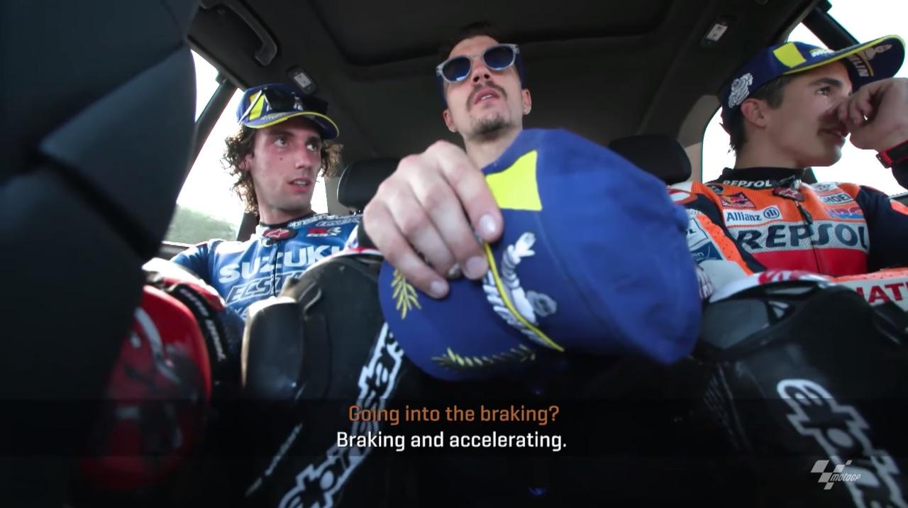 El vídeo que te muestra las claves de Silverstone con Rins, Márquez y Viñales