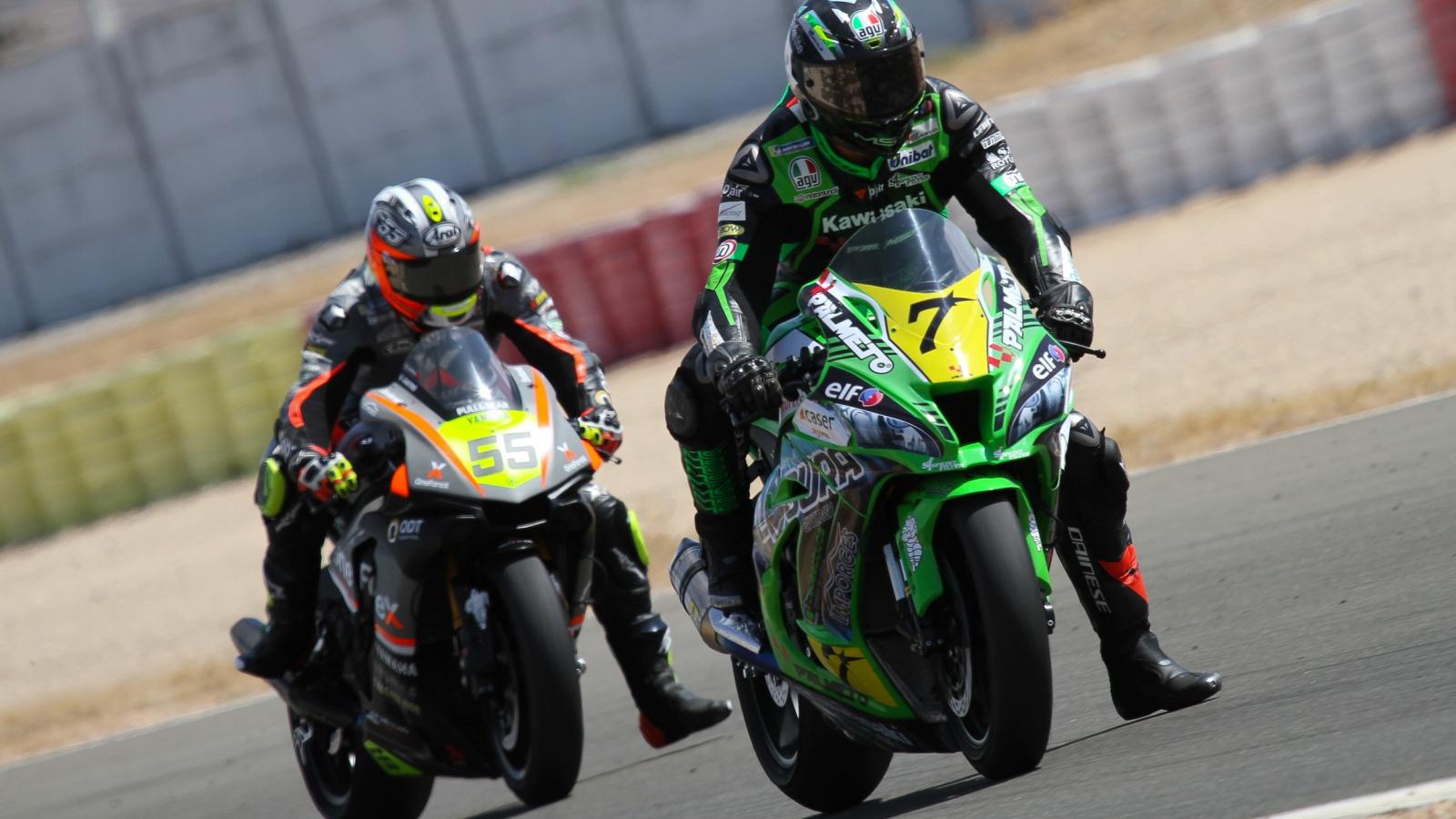 ESBK Albacete: Maxi Scheib vence en Superbike y Héctor Garzó se impone en Supersport