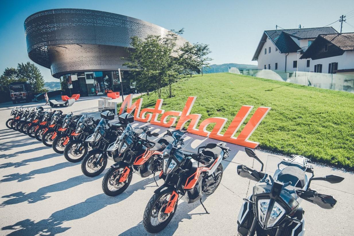 Visita al KTM Motohall: historia y presente de KTM