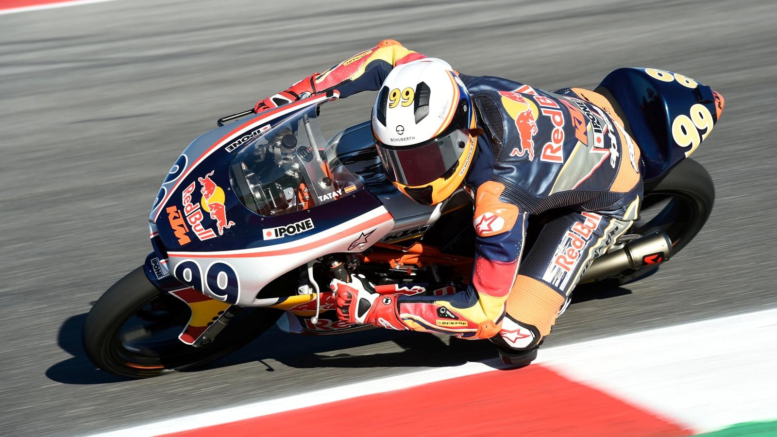 Carlos Tatay conquista la Red Bull MotoGP Rookies Cup 2019