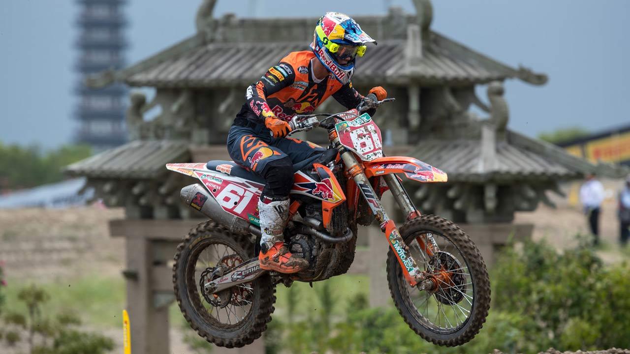 Jorge Prado establece un nuevo récord en MX2