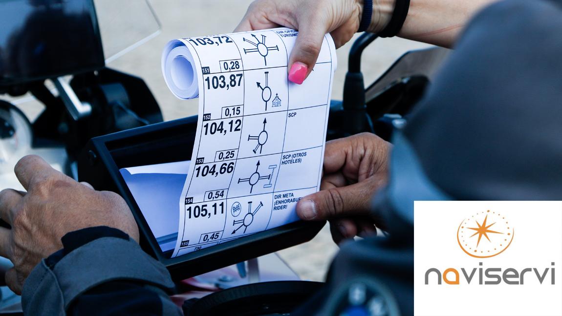Motociclismo Rally Sevilla: Alquiler de caja portaroadbook con Naviservi