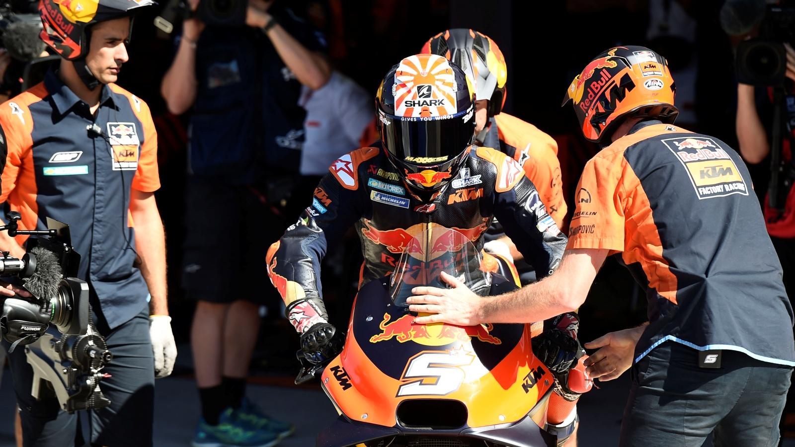 Johann Zarco no volverá a subirse a la KTM: Mika Kallio le sustituye el resto del año
