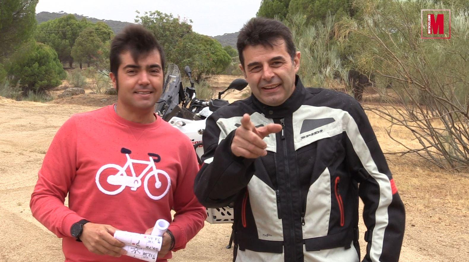 Así se hacen los recorridos de nuestras rutas Motociclismo Rally