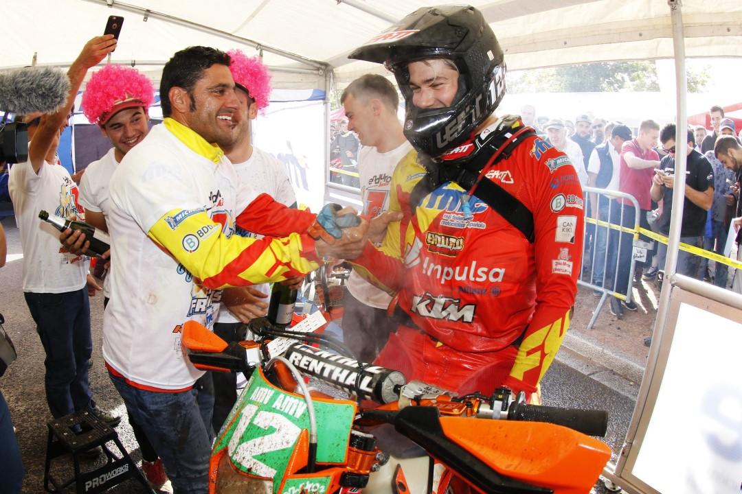 Enric Francisco, Campeón del Mundo Enduro Junior 2