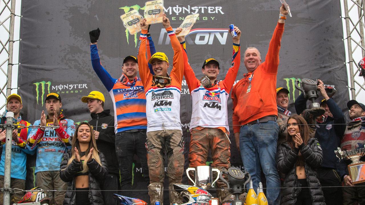 Primer triunfo de Holanda en el Motocross de las Naciones