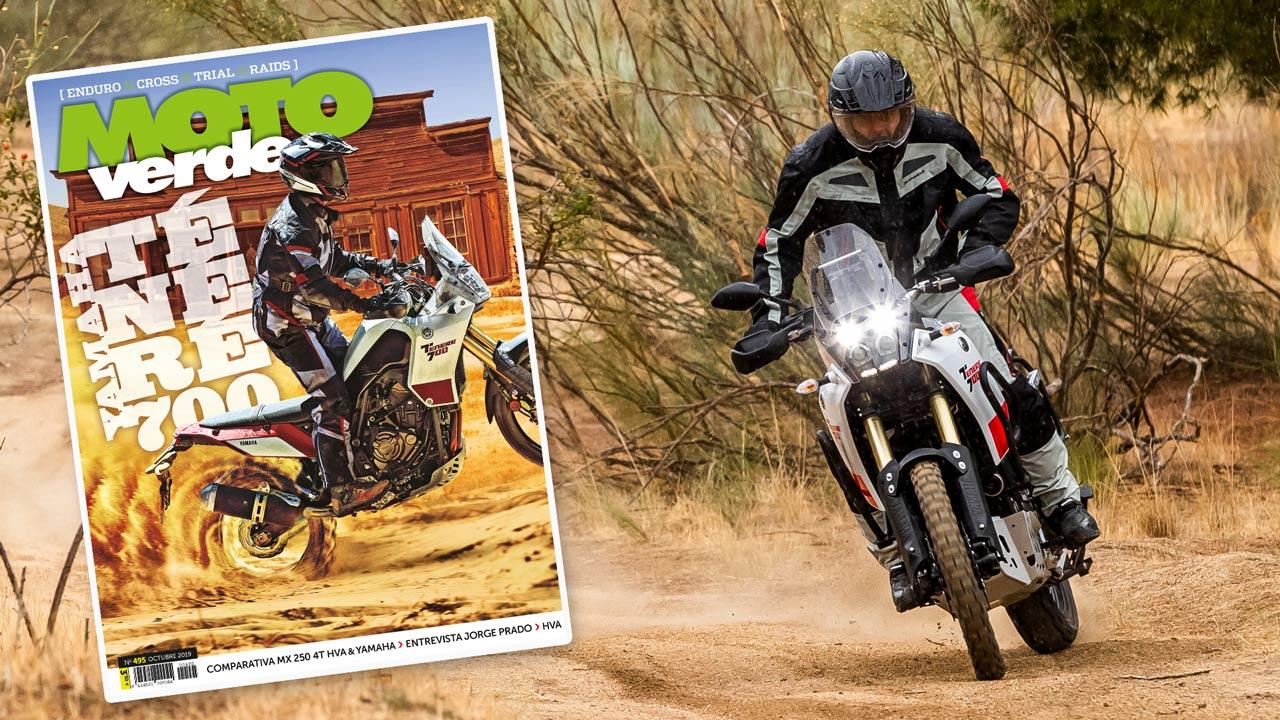 MOTO VERDE 495, contenidos y sumario de la revista