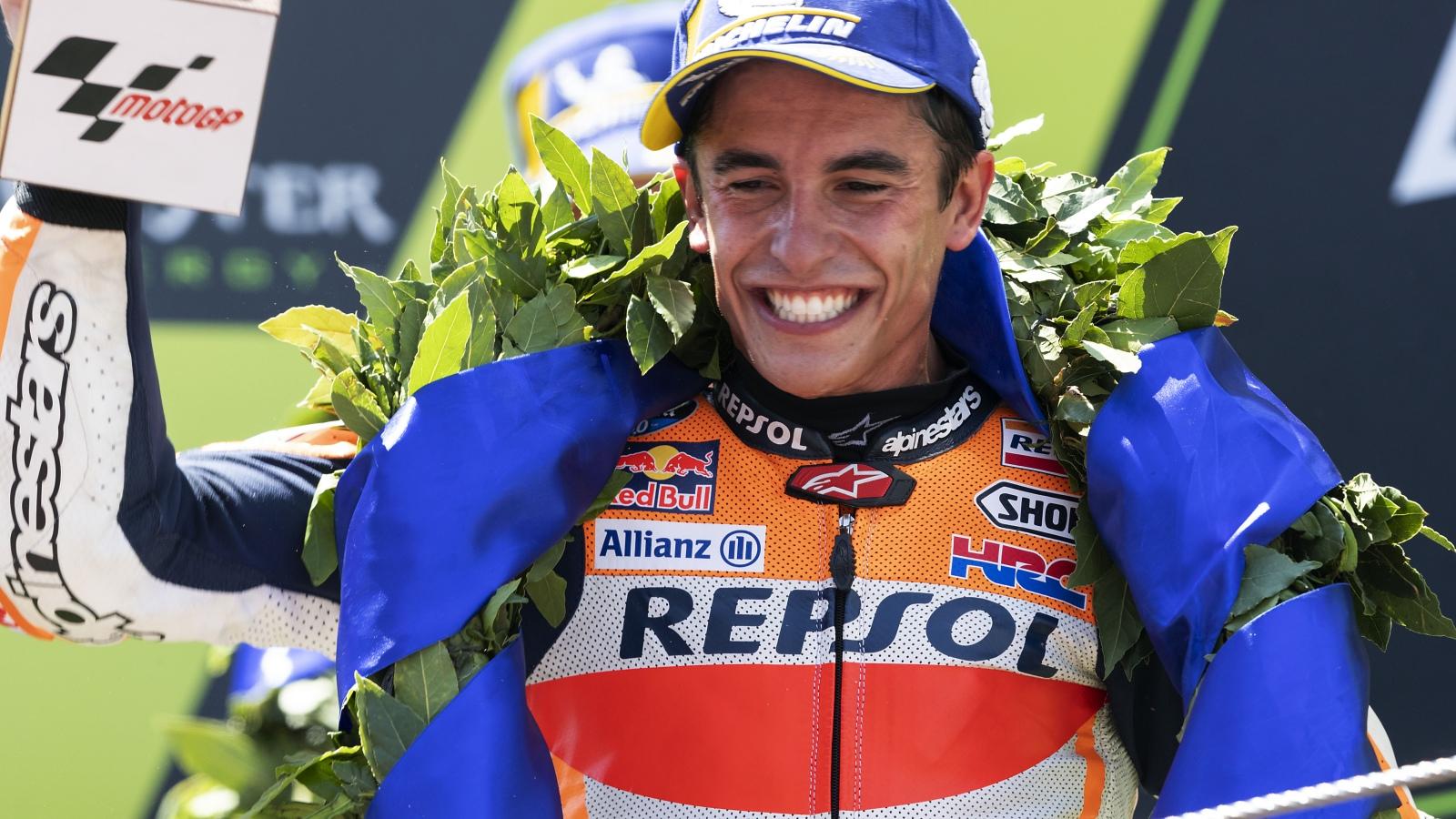 Marc Márquez ya es hexacampeón de MotoGP y se pone tercero de todos los tiempos