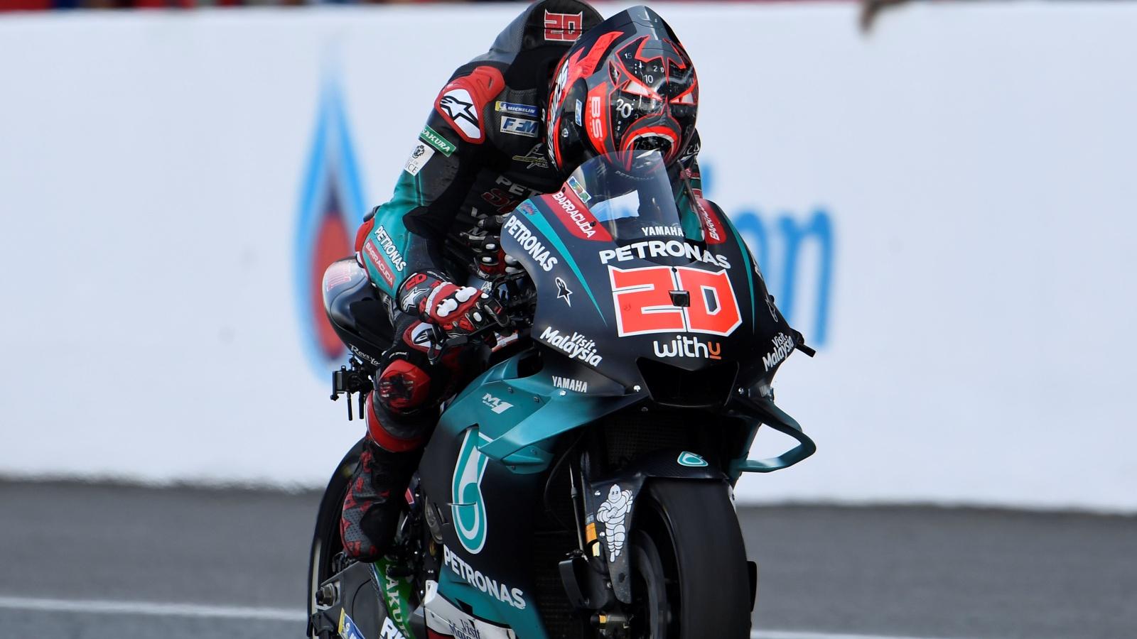 Fabio Quartararo ya es uno de los mejores rookies de la historia de MotoGP