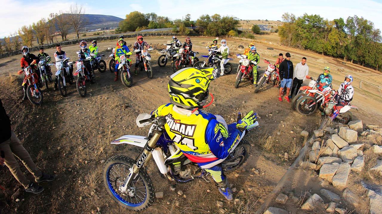Gran éxito del curso Moremoto de motocross y enduro