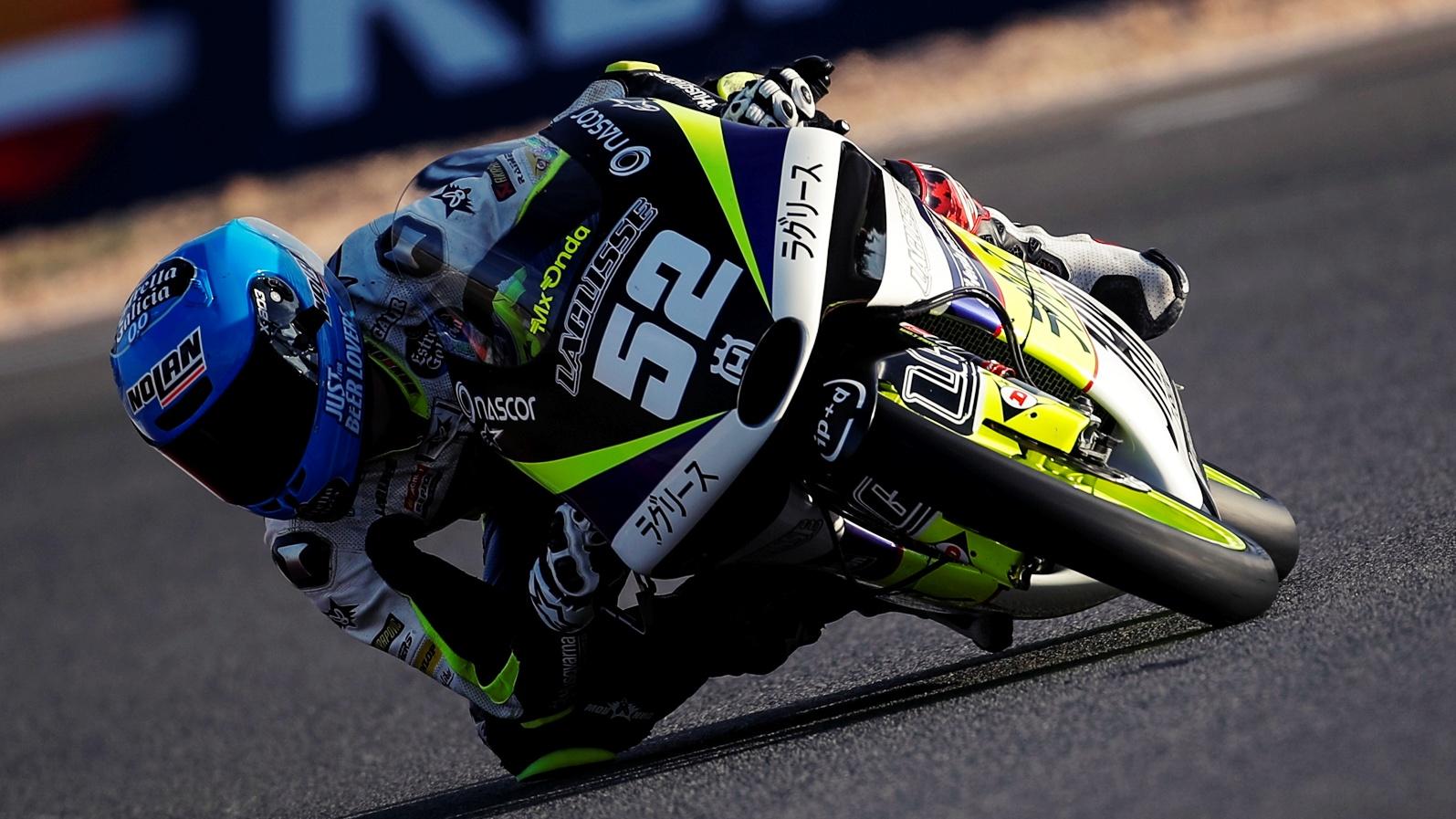 Jeremy Alcoba se impone en Albacete y ya roza el título mundial junior de Moto3