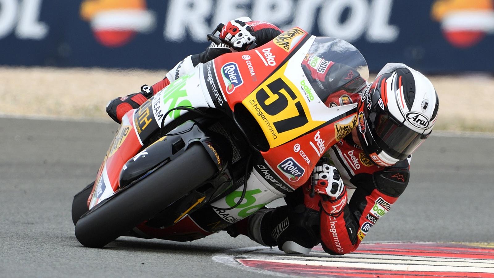 Edgar Pons se proclama campeón de Europa de Moto2 por segunda vez