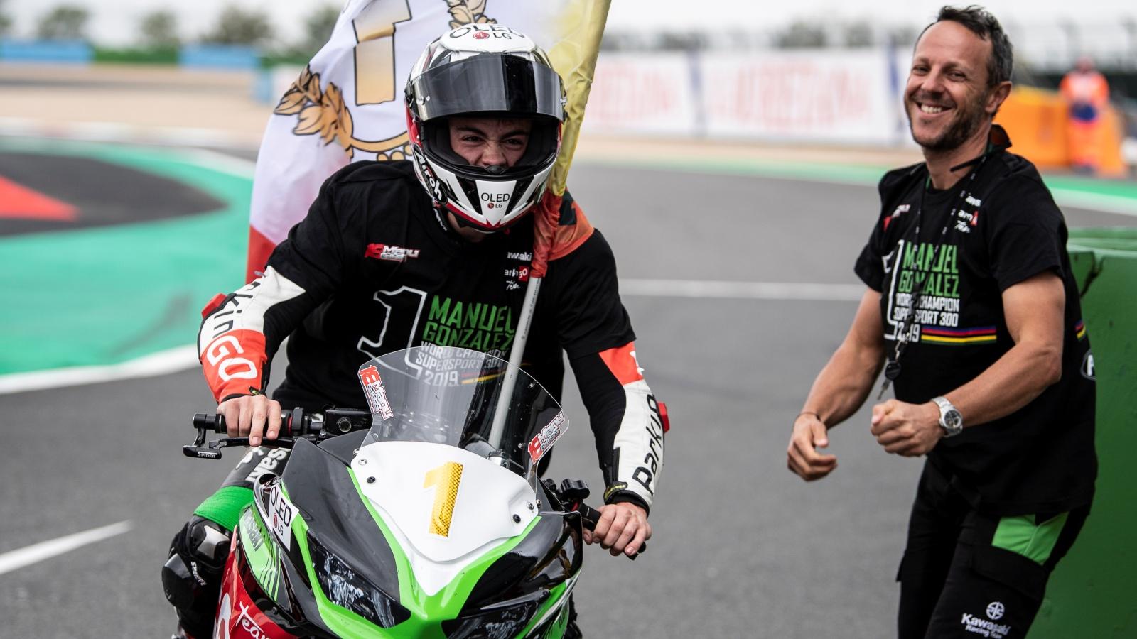 Manu González saltará al Mundial de Supersport 2020 con apoyo de Kawasaki