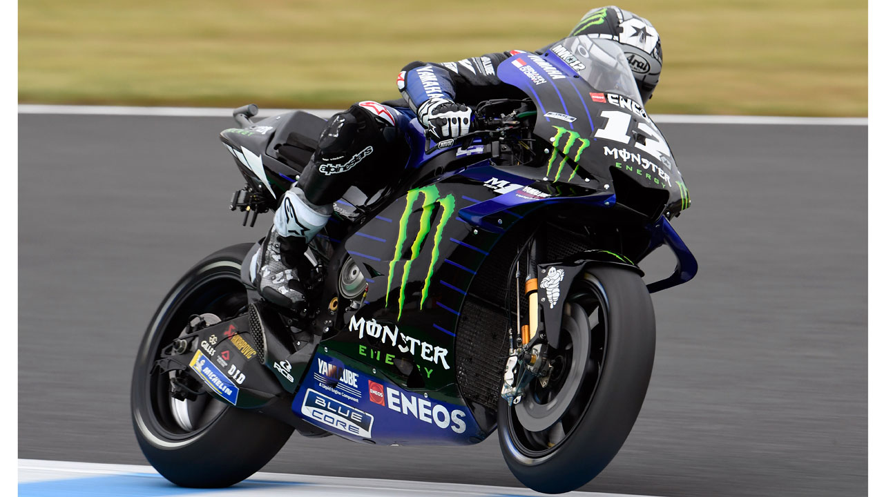 """Maverick Viñales: """"Yamaha es una moto fantástica cuando hay agarre"""""""