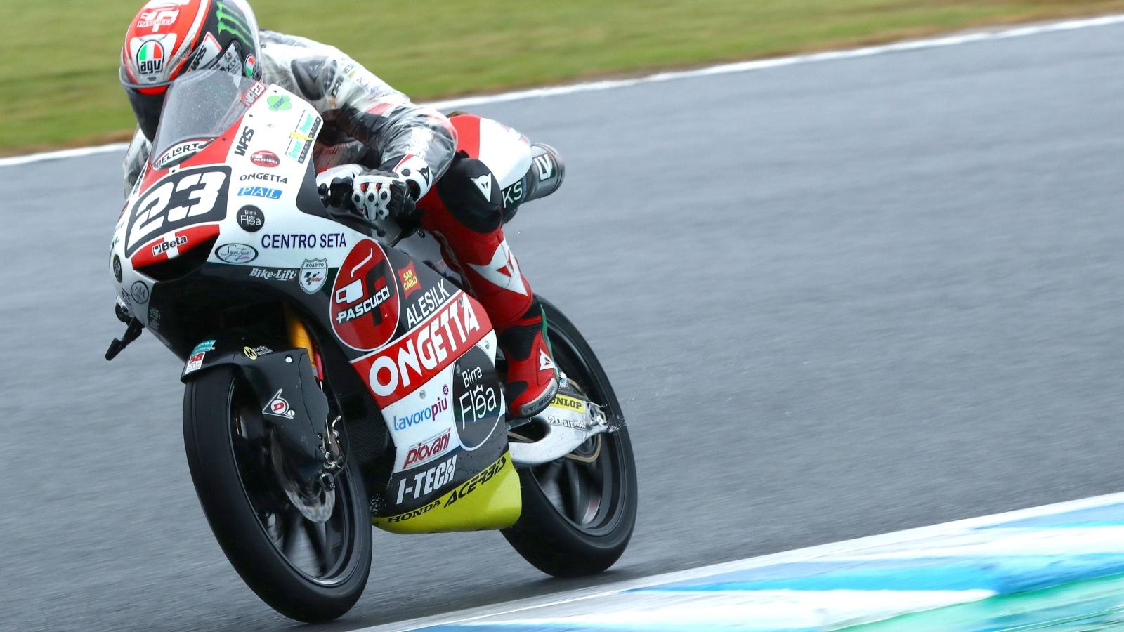 Niccolò Antonelli se hace con la pole de Moto3 en Motegi delante de Alonso López