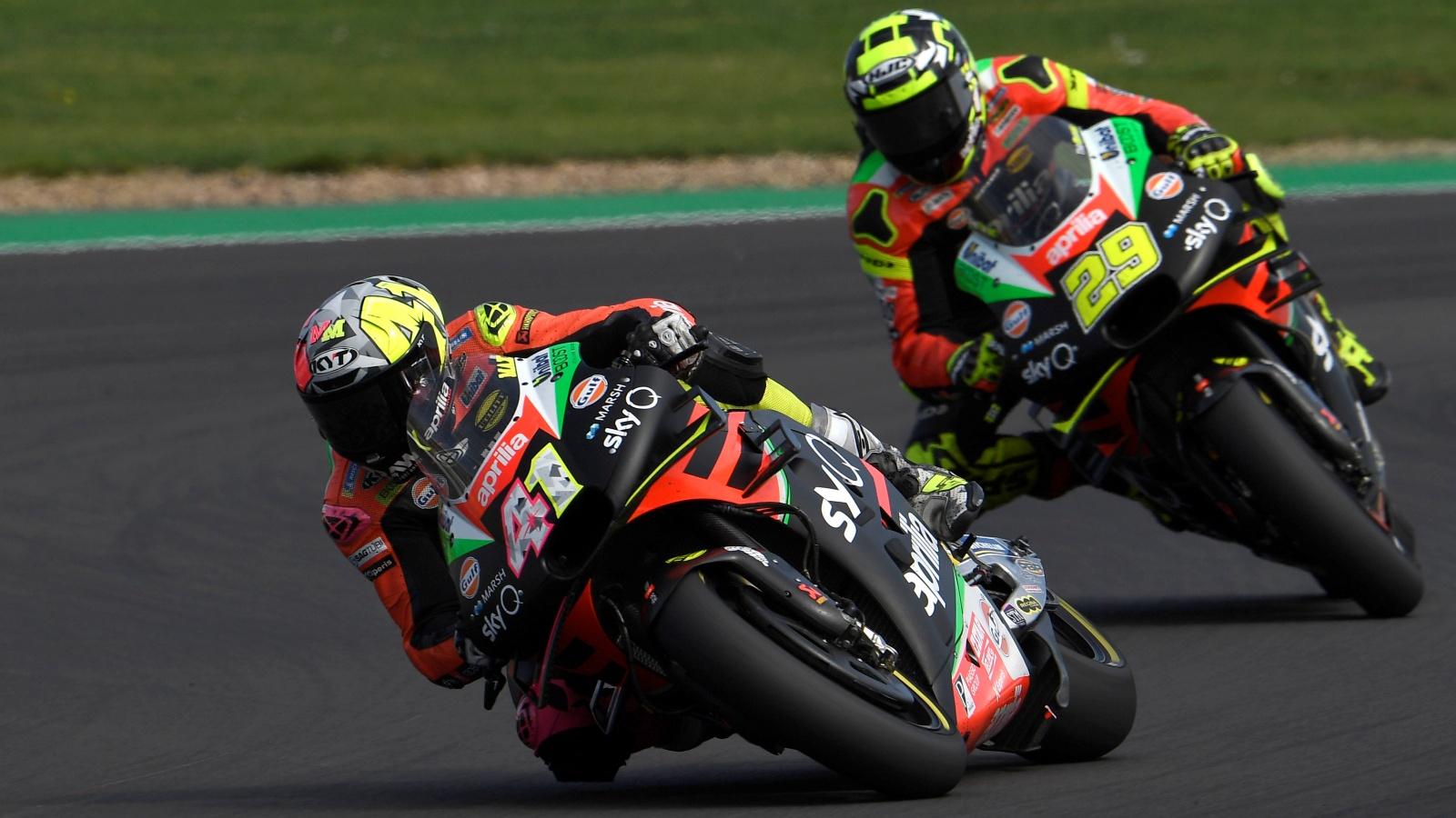 """Aleix Espargaró: """"Mi moto idéntica a la de Iannone, pero hay otras diferencias de pilotaje"""""""