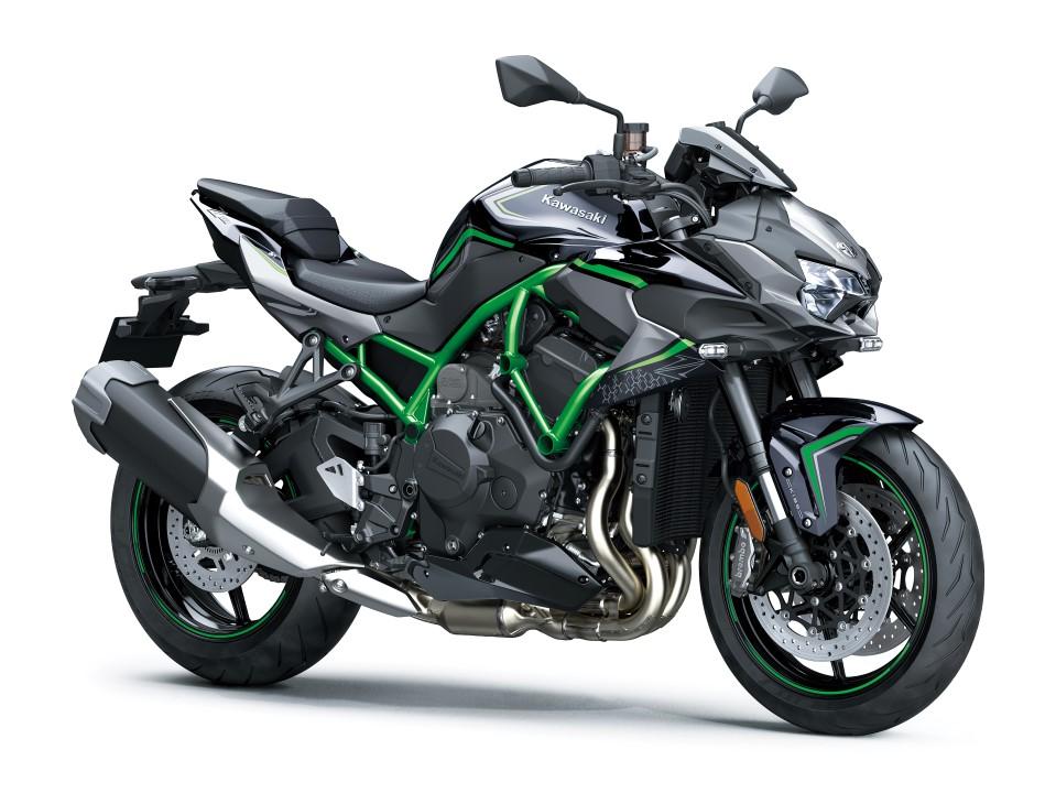 La nueva y espectacular Kawasaki Z H2, la naked más brutal