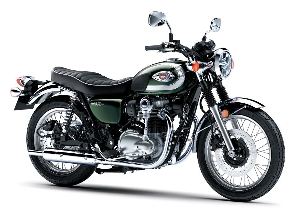 Kawasaki W800, la moto más clásica lo es todavía más