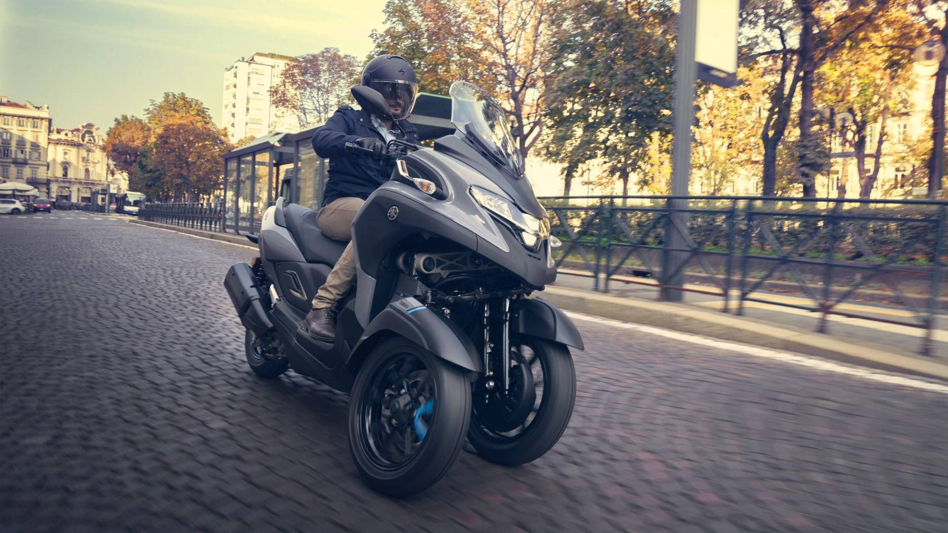 Yamaha Tricity 300, el triciclo japonés pega el estirón