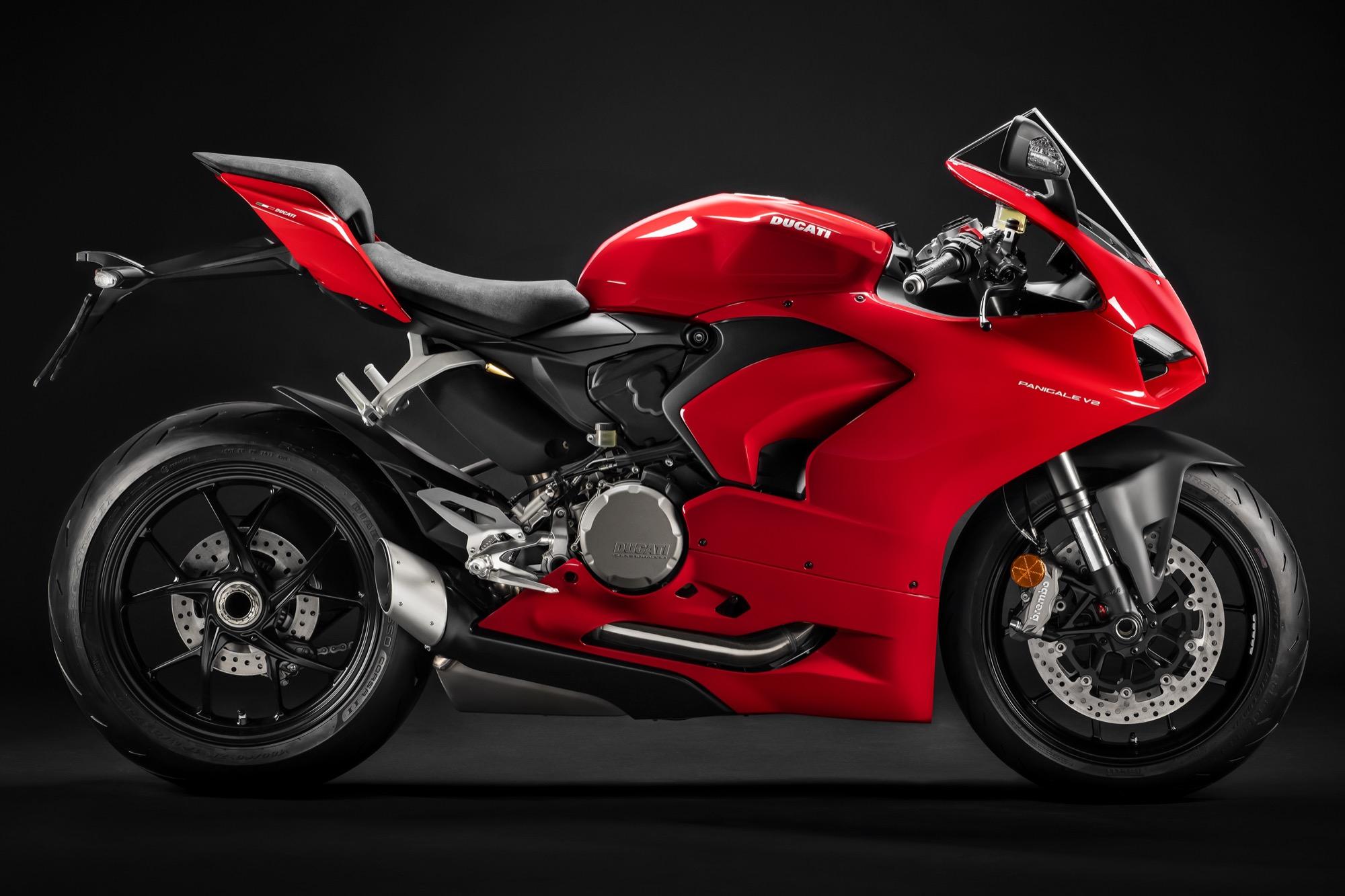 Ducati Panigale V2 2020, brillante nueva imagen para la deportiva de dos cilindros