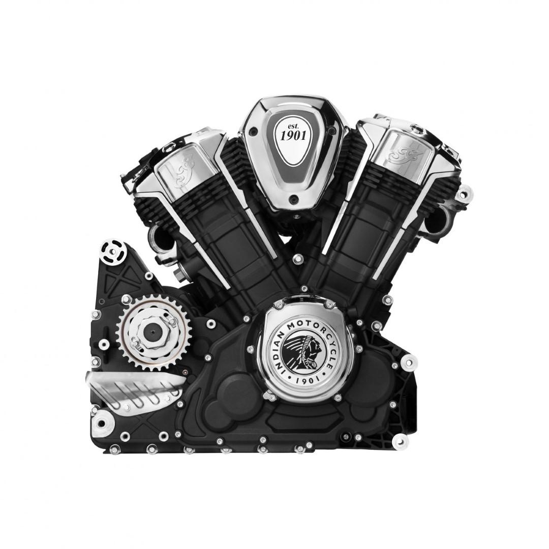 Nuevo motor Indian PowerPlus: más potente, moderno y refinado